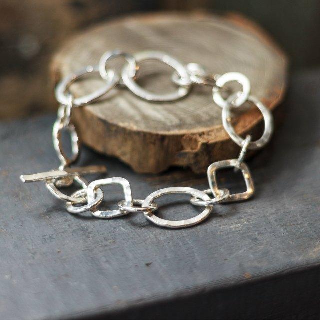 Chunky irregular bracelet - small