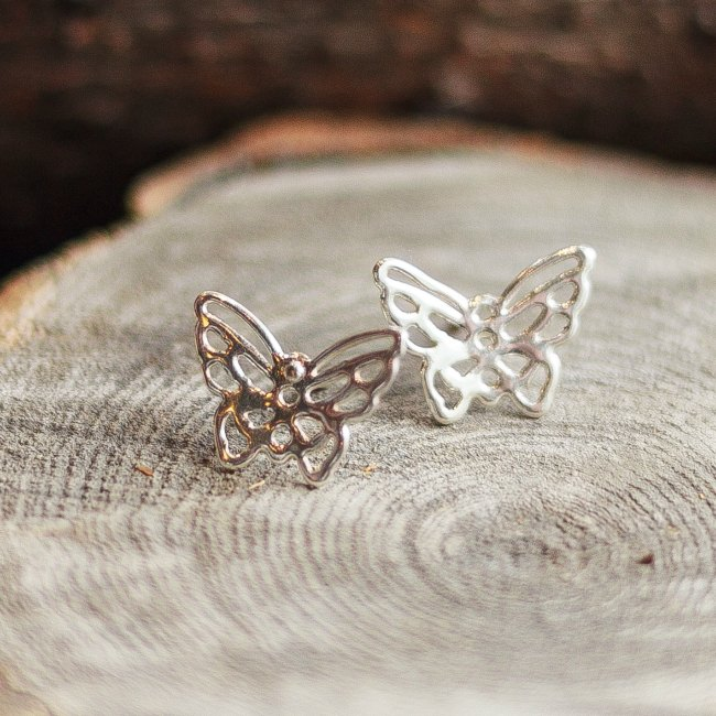 Butterfly studs-small
